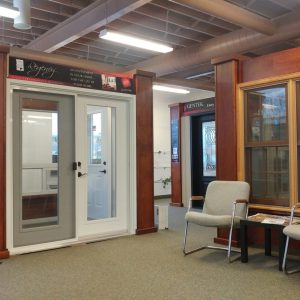 Check out our showroom. Windows, Doors and More!