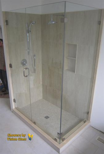 Showers - corner-3pc